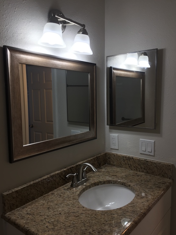 Cory Renovation Guest Bathroom After